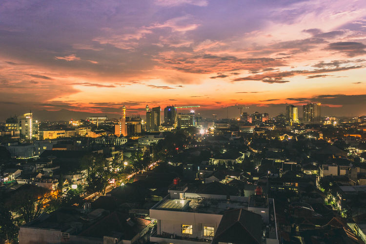 Casual Afternoon Sky Sunset Sunlight City Cityscape Bandung INDONESIA Canonphotography Office Building Scenics Tower Tall - High Countryside Overcast Clock Tower Tall Office Building Exterior