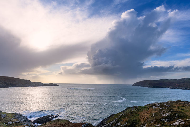 Storm Clouds Gathering over the Sea at Mizen Peninsula, West Cork, Ireland Brow Head Mizen Head Nature Rain Coming Seascape Photography Sky And Clouds Storm Clouds Gathering Wild Atlantic Way Wild Atlantic Way, Ireland, Cork, West Cork, Seascape, Landscape. Sea, Mountains, Barleycove Crookhaven Mizen Peninsula No People Rain Clouds Sea Sea And Sky Seascape Sky Storm Cloud Storm Clouds Over The Sea Stormy Sky Water West Cork