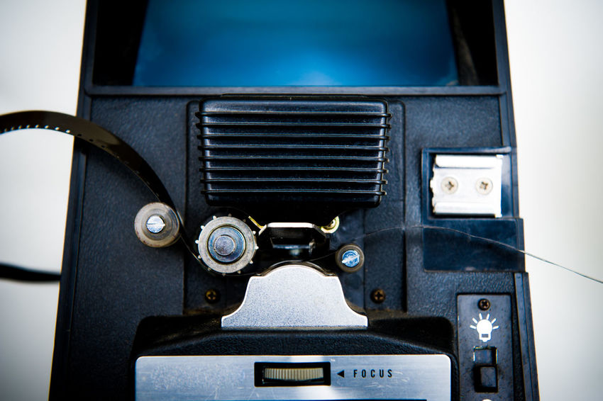 Movie editing machine detail Cinema Close-up Editing Editing Machine Film MOVIE No People Super 8