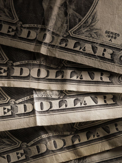 American Text USD Word Business Close-up Currency Dollar Finance No People Paper Currency