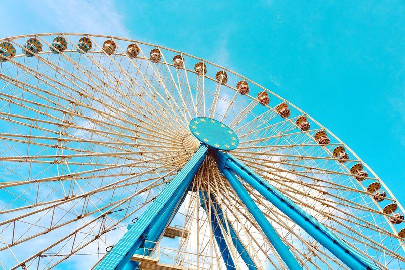BigWheel Köln Bigwheel Riesenrad Kirmes First Eyeem Photo