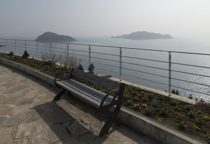 sea observatory at Jangsado Island in Tongyeong, Gyeongnam, South Korea. Taken with D850 Beautiful Day Bench Nature Nature's Beauty Observatory Seascape Photography South Korea Tongyeong Tranquility Architecture Beauty In Nature Beauty Of Nature Clear Sky Day Fence High Angle View Jangsado Land Mountain Natue's Beauty Nature No People Non-urban Scene Observation Point Outdoor Outdoor Photography Outdoors Outdoors Photograpghy  Peace In Nature Peaceful Day Railing Scenics - Nature Sea Seascape Seaside Sky Tranquil Scene Tranquility Traquility Water