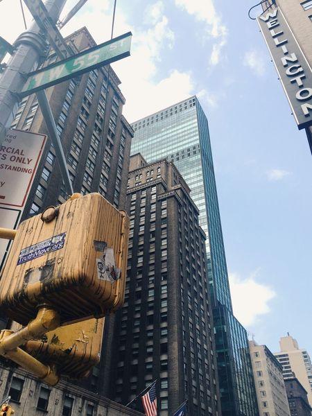 W 55 St. Lookingup VSCO Manhattan