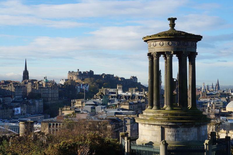 Calton Hill Edinburgh Scotland Edinburgh Castle