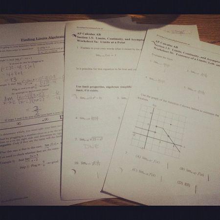 September18 Homework Calculus :p