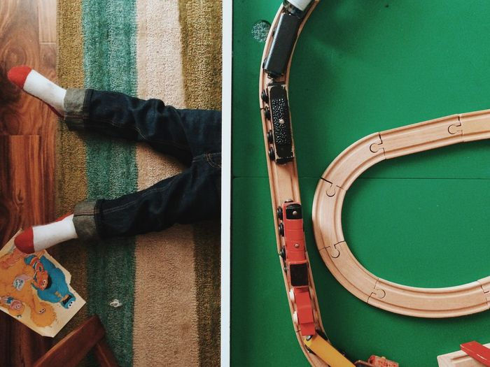 Kids Kid Child Children Childhood Legs Cute Playing Playtime Train