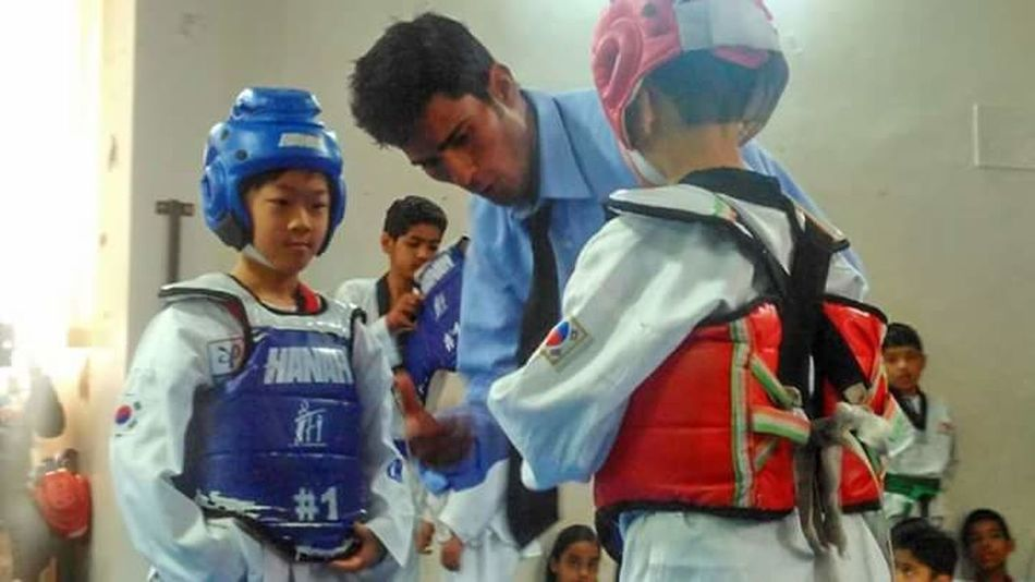 Passion, training,regularity Isot Indianschooftalent Martialart Taekwondo Child Sports Dehradun