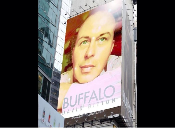 What? Doesn't everybody get their face on a fashion billboard? Model Fashion Fashion Billboards Taking Photos