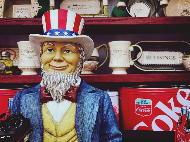 Sam's smirk Looking At Camera Uncle Sam Americana Red White And Blue Smile Smirk 4th Of July July 4th Independence Day