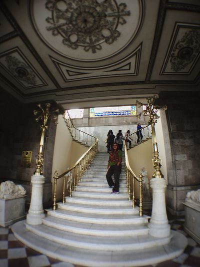 EyeEm Selects Stairs at the museum. Museum Mexico