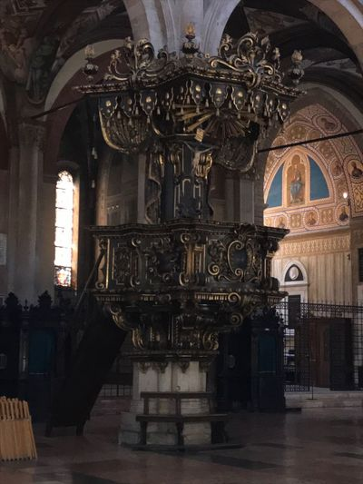 Parma No Filter Pulpit Púlpito Duomo Di Parma Duomo Parma Emiliaromagna Italy Architecture Built Structure Religion Place Of Worship Indoors  Belief Building Spirituality Travel Destinations Travel Arch History The Past Day Gothic Style Ornate