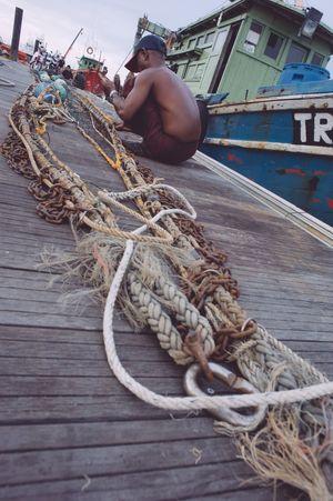 Fisherman Fishing Trawler The Photojournalist - 2015 EyeEm Awards Malaysia Kuala Terengganu People Of The Oceans