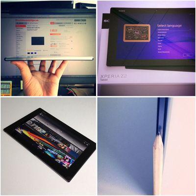 Unglaublich dünn und leicht ist das neue Sony Xperia Tablet Z2