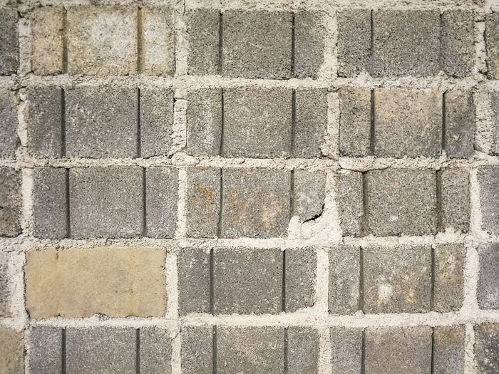 Abandoned Aged Backgrounds Block Brick Wall Cement City Construction Deserted Dirty Graphic Gray Layer Old Outdoors Pattern Retro Rural Square Stack Textured  Urban View Vintage Wall