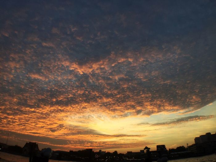 Sunset Sky Sunset Cloud - Sky Beauty In Nature EyeEm Thailand Bangkok Thailand Chao Phaya River