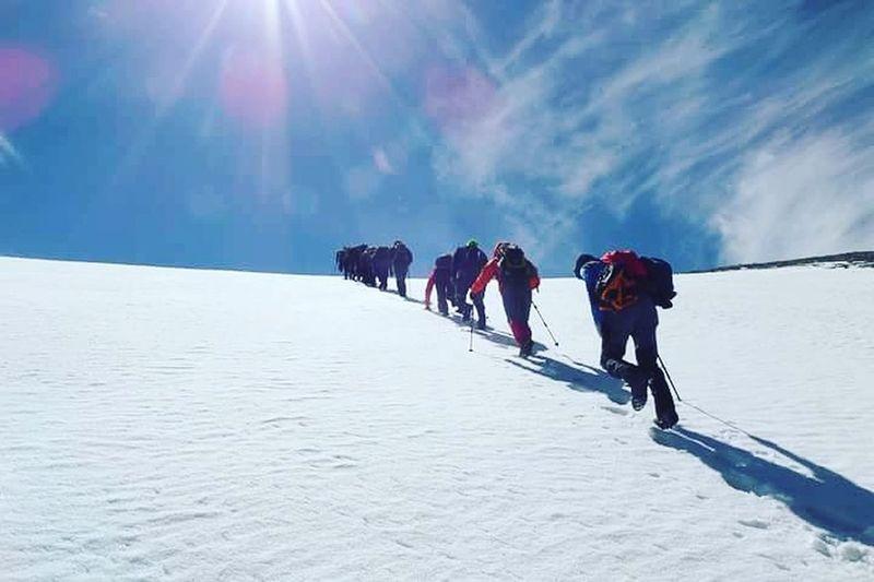 Climbing Snow ❄ Kar Mountain Wildlife Dağcılık EyeEm Best Shots EyeEm Gallery Eyeemphotography EyeEm Team