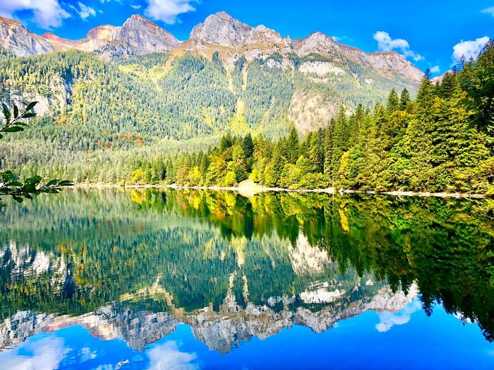 Mirror Italybeauty Water Beauty In Nature Tranquility Lake Reflection Plant Tranquil Scene Nature Tree Mountain Sky Day Green Color Cloud - Sky Outdoors Mountain Range Scenics - Nature