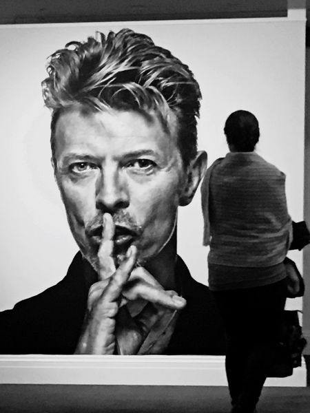 Admiring David Bowie EyeEmNewHerе Close-up Men Indoors  David Bowie Bowie London Candid Photography