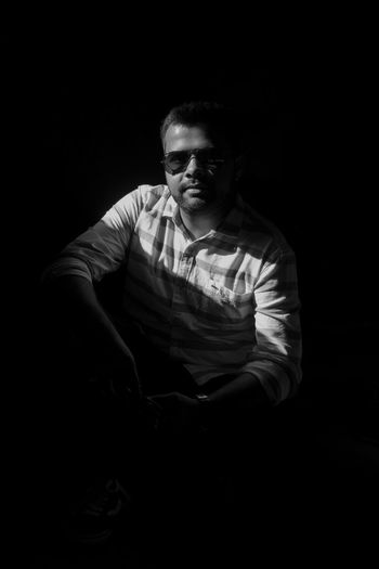 Face Shadow Shadows & Lights Shadow On Face Black Background Men Sitting Portrait Thoughtful Redefining Menswear Exploring Fun