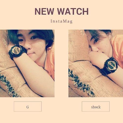 ? 沒錯? 我換新 手錶⌚了 New Watch G_shockGD1001b Thanks mom?