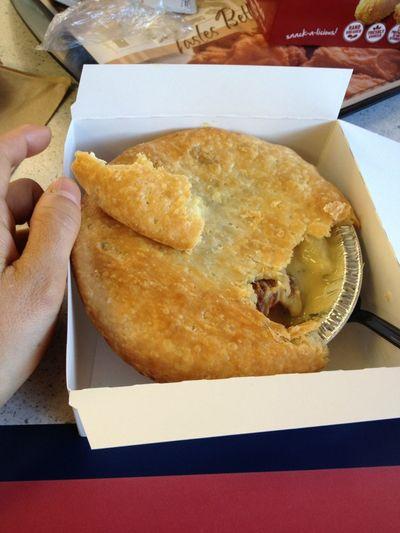 KFCのチキンポットパイ。