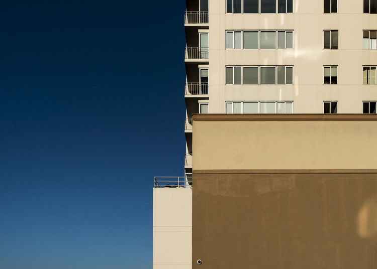 squared Architecture Building Exterior Built Structure City Clear Sky Copy Space Day No People Outdoors Sky Window