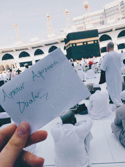 Musluman Islam Mekke Arabistan Kabe