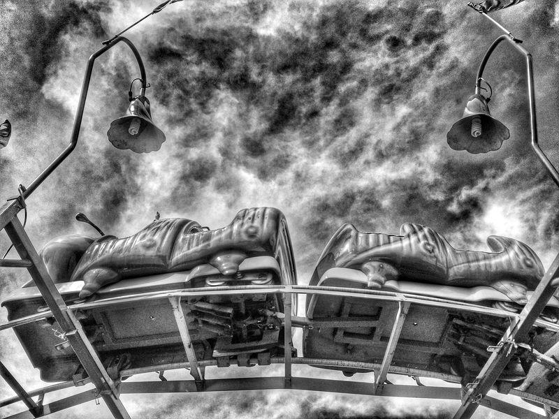 Carnival ride Carnival Roller Coaster Carnivals County Fair Fair Carnival Rides Going On Rides NEM Black&white Black & White Black And White Fairground Attraction Rides At Fair Carnival Spirit Fairground Fairgrounds Black&white Summer Fairground Ride Having Fun Black And White Collection  Fun Black And White Photography Blackandwhite Blackandwhite Photography Editorial