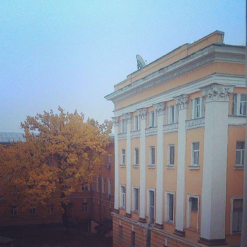 Из окна универа учиться просто невозможно при такой красоте фото я instaphoto instagood university knu