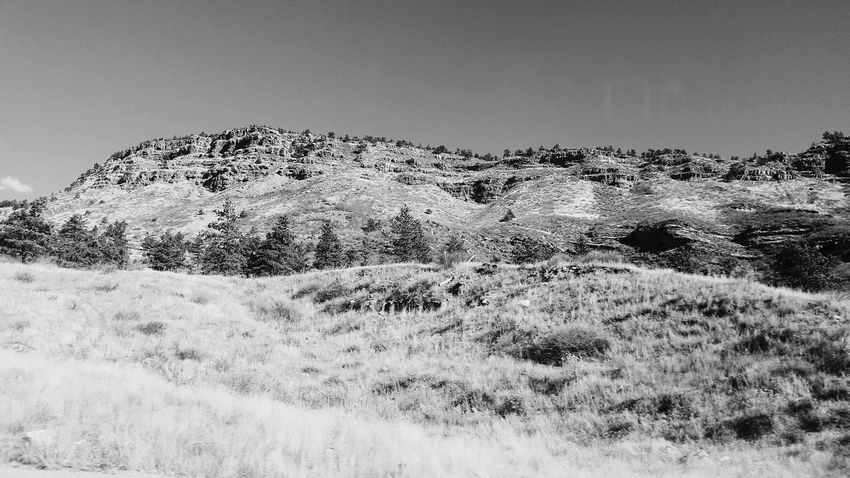 (Black and white version) Clear Sky Nature Landscape No People Scenics Beauty In Nature Outdoors Nature Great View Taking Photos Enjoying LifeBlackandwhite Photography Colorado Tranquility Mountain