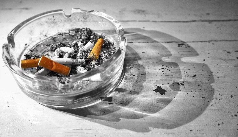 Black And White Orange Color Smoking Time Cigarette  Ash Shadow Smoking Kills Table Rijeka City Photography Welcome To Black