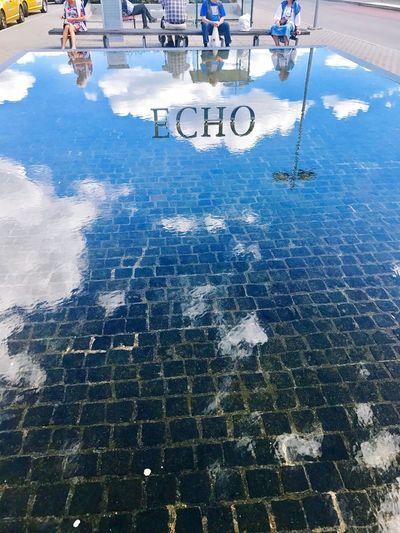 Waysofseeing Cobblestone Underwater Reflections In The Water Clouds And Sky Real People The Week On EyeEm Investing In Quality Of Life From My Point Of View EyeEm EyeEmBestPics Sommergefühle Let's Go. Together. Travel Destinations Hello World Iponeonly EyeEm Best Shots Breathing Space Sunlight Summertime Outdoors Echo Art Shadows Sculpture Sky Colour Your Horizn Visual Creativity 10