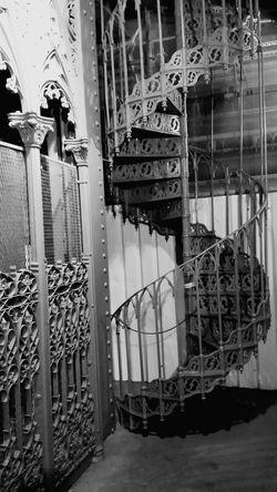 Lisbon Elevator Blackandwhite