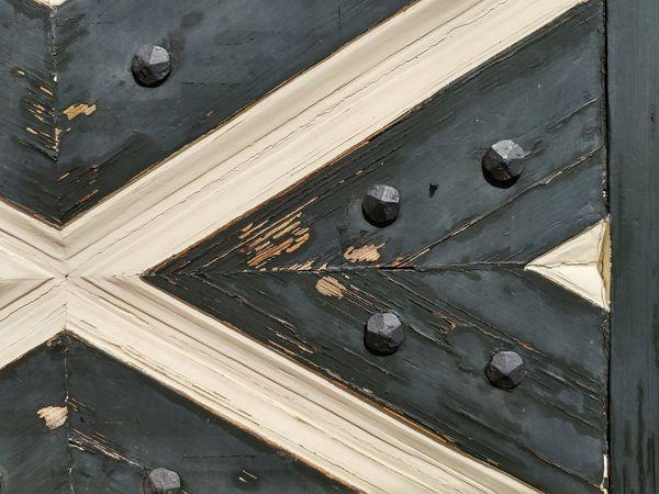 Old Wooden Door as Close-up
