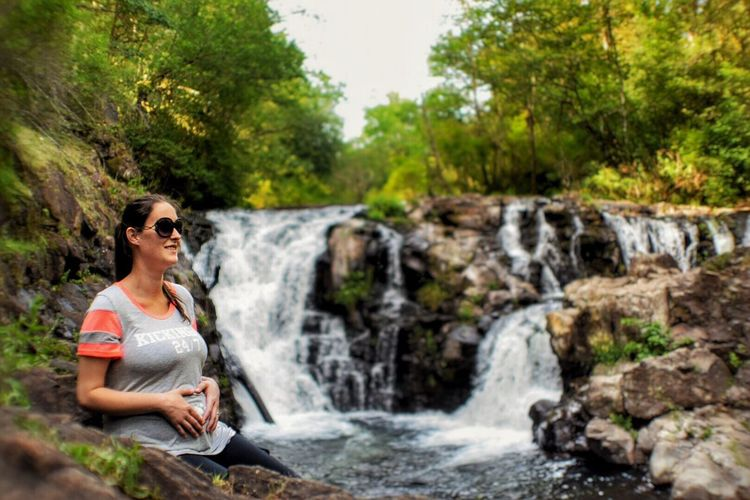 Portrait Of A Woman Pregnant Phtography Focus On Foreground Beauty_collection Pregnant Life Waterfall #water #landscape #nature #beautiful Waterfalls And Calming Views  Relaxing Taking Photos Enjoying Life The Essence Of Summer Waterfall_collection Landscape_photography Outdoor Photography Original Experiences