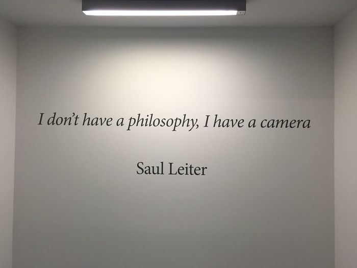 Philosophy Camera Writing On The Walls Craft