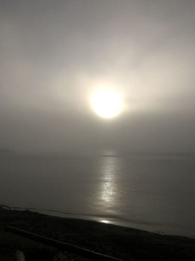 Fog Water Sky