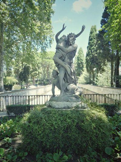 Statue Sculpture Human Representation Art And Craft Female Likeness Tree Day Outdoors No People Sky Nature Palácio De Queluz Palace
