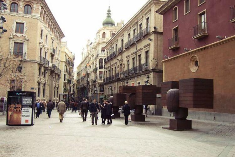 Calles con encanto. Relaxing City España Arqitectura