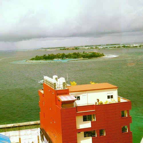 Beautiful Maldives Beauty Nature Theyofunadhoo Islandofoil betweenmaleandhulhumale futurebridge
