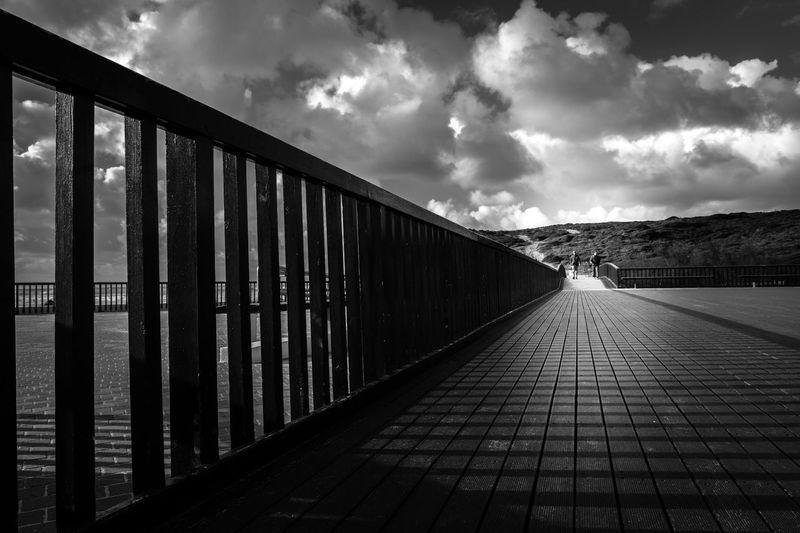 linhas direcionais Madeira Nuvens Passeio  Pessoas Architecture Cloud - Sky Contrast Contrastes Day Estrutura Linhas Nature Passadiço Sky