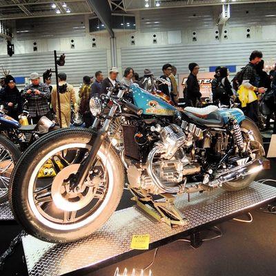 Yokohama hotrod custom show 2013 Hcs2013 Honda Gl Chopper bobber