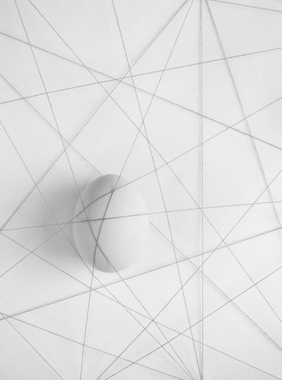 in a trap Creative Photography Creativity Egg Arts Food Art Abstract Close-up Creative Egg Food Food Photography Foodphotography Geometric Shape Indoors  Thread Trap Trapped White White Background