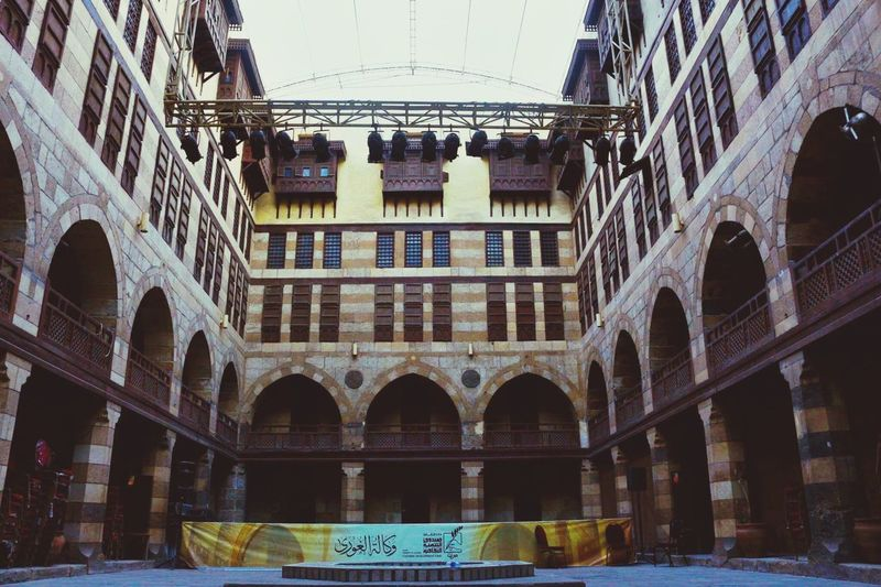 Theater Architecture Low Angle View City Sky No People Day Arch Built Structure Discover Your City Old Cairo