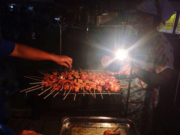 Food Photography Night Food Barbecue Thai Food Jjmarketthailand Bkk Thailand Thailand LastNight City Local Food Real People