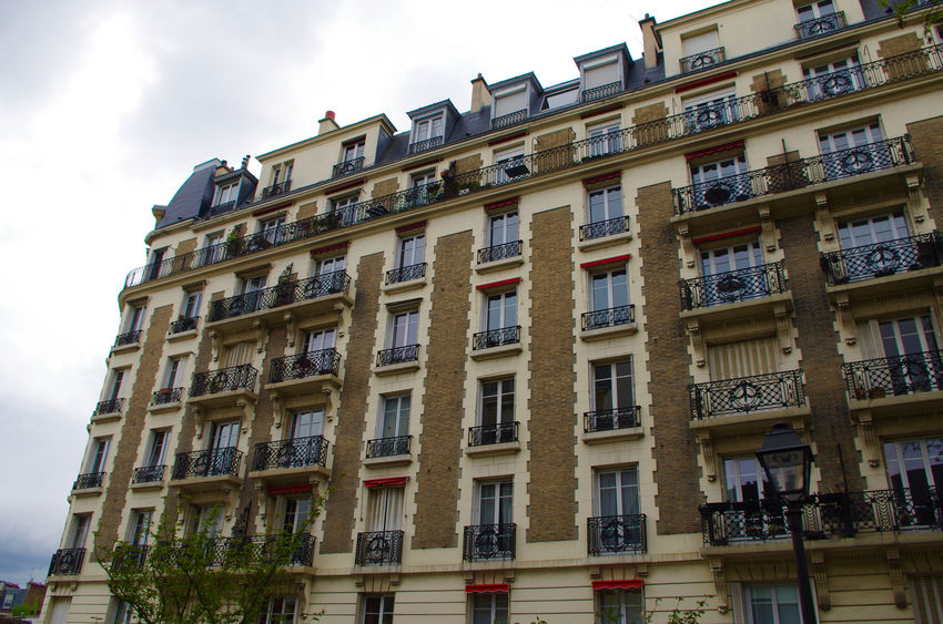 Architecture Balcony Building Building Exterior Built Structure Capital Cities  City Cloud - Sky Day France Low Angle View No People Outdoors Paris Sky Street Travel Travel Destinations Travel Photography Window