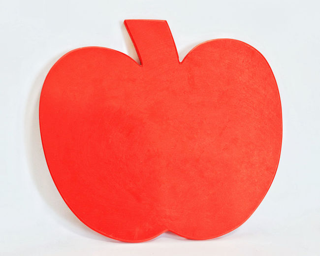 Apple Apple Object Apple Shaped Fruit Shape Red Red Apple Shape Apple Shape Apples Close-up Color Red Heart Shape Love No People Orange Color Red Red Apple Red Color Studio Photography White Background