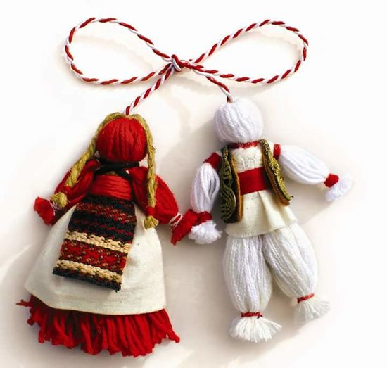 Martisor Chisinau Moldova Tradition Nature Republic Of Moldova Symbol Of Spring