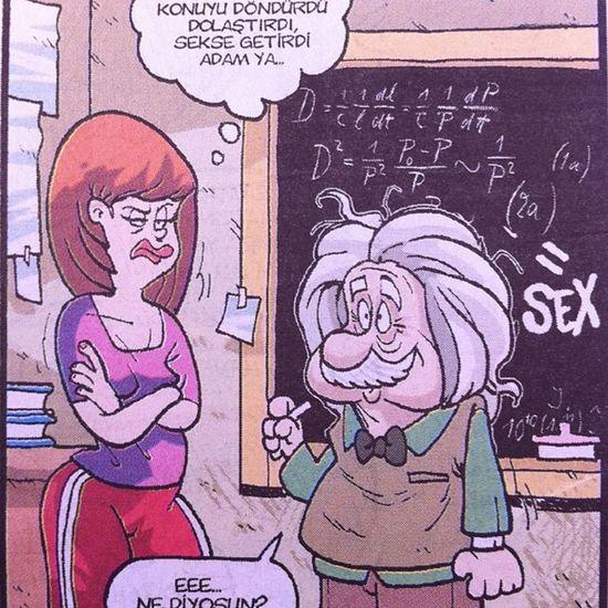 Girgir dergisi Agustos Ilk sayisindan... Her konu sekse baglanabilir zor degil Mizah komik karikatur istanbul