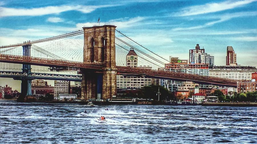 South Street Seaport Brooklyn Bridge / New York New York ❤ Water_collection